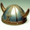 Viking Helmet Gold/Blue Economy
